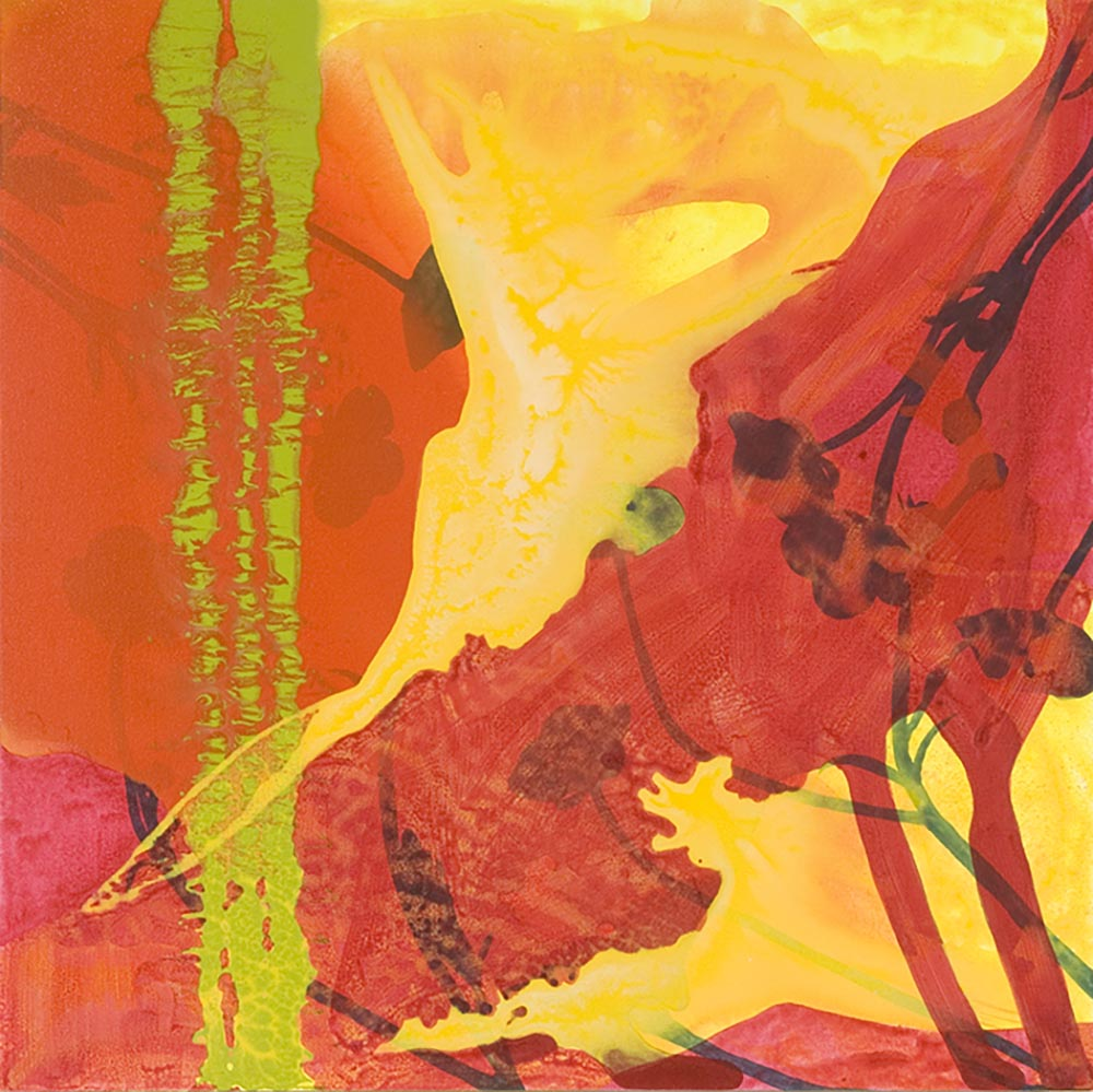 Andrea McCuaig Alchemy III 2007 Acrylic on canvas 75 x 75cm