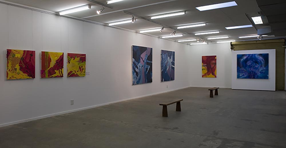 Andrea McCuaig Invisible Rapture 2007 Installation shot 1
