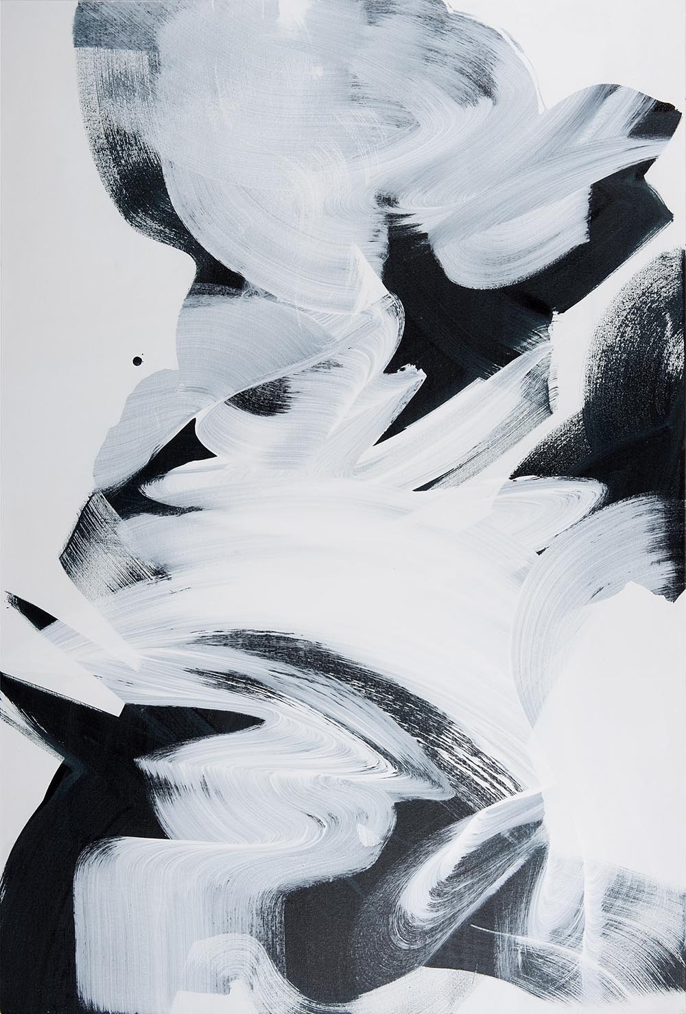 Andrea McCuaig Prelude to zen IV 2014 Acrylic on canvas 150 x 100cm