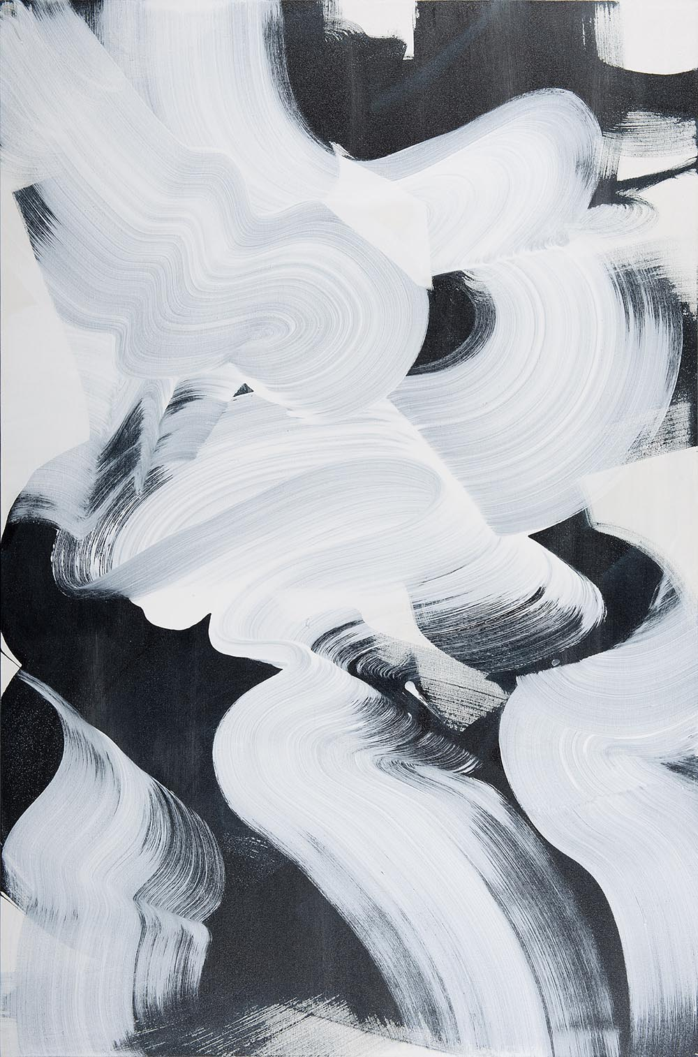 Andrea McCuaig Prelude to zen I 2014 Acrylic on canvas 150 x 100cm