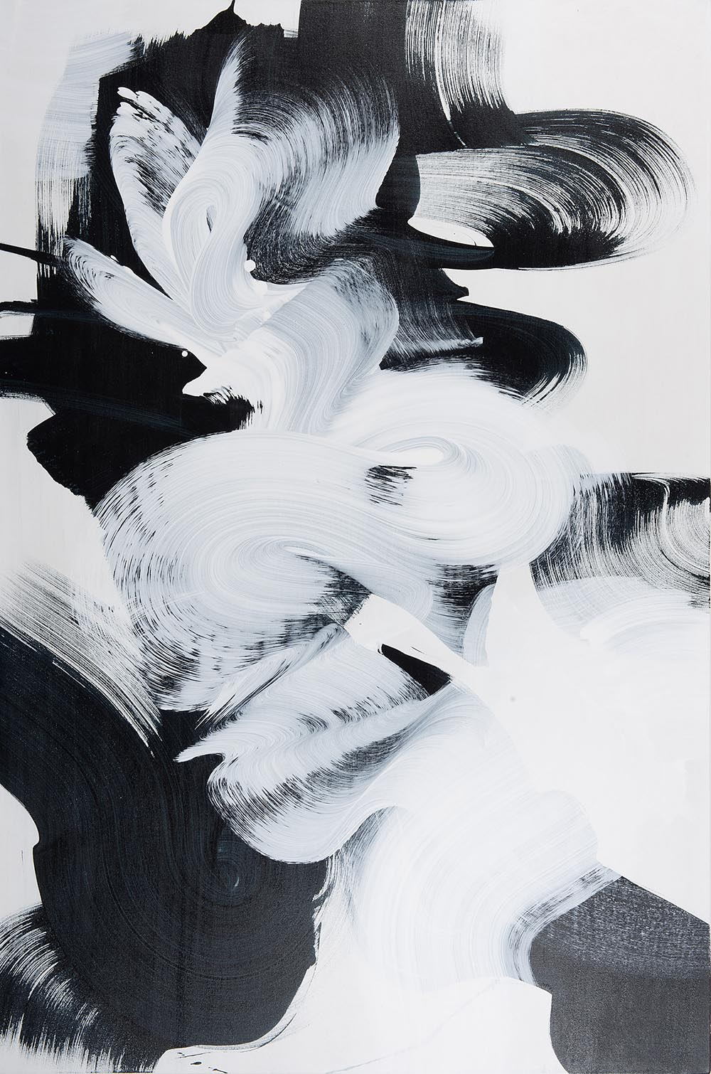 Andrea McCuaig Prelude to zen V 2014 Acrylic on canvas 150 x 100cm