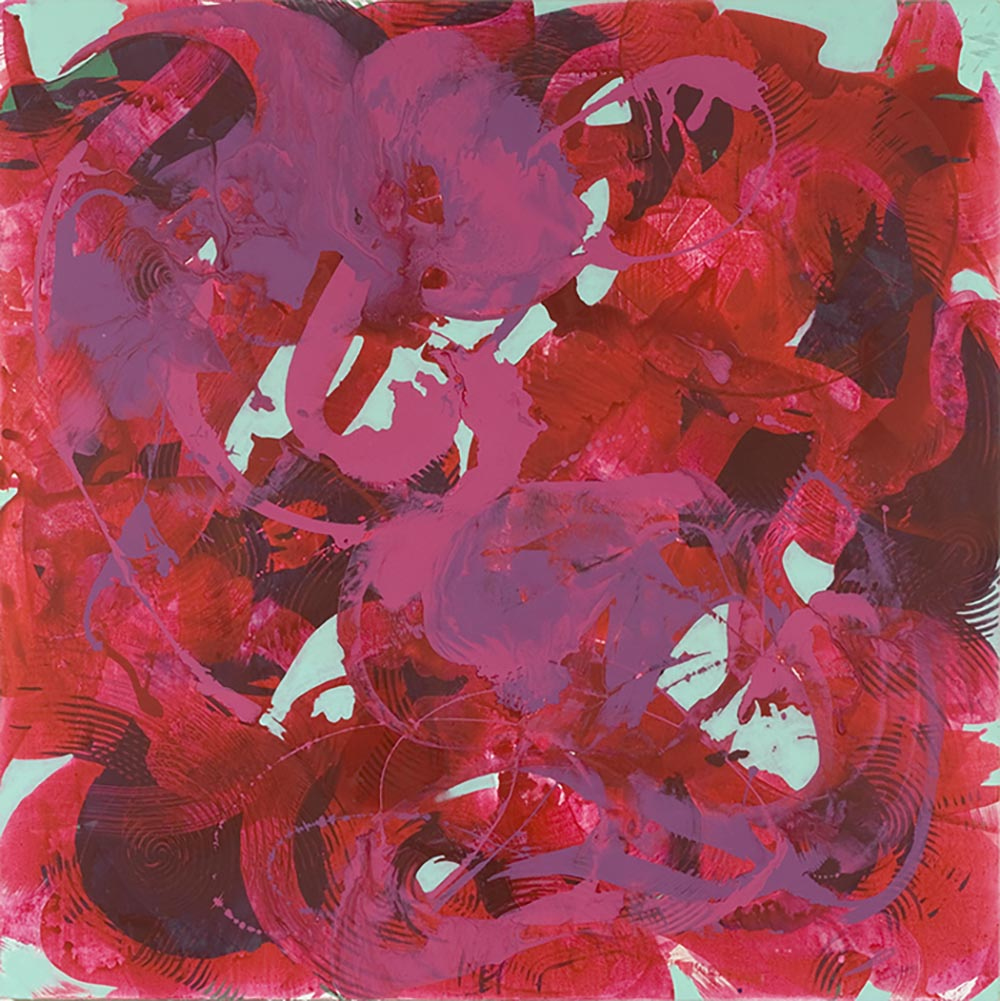 Andrea McCuaig Untitled II 2007 Acrylic on canvas 150 x 150cm
