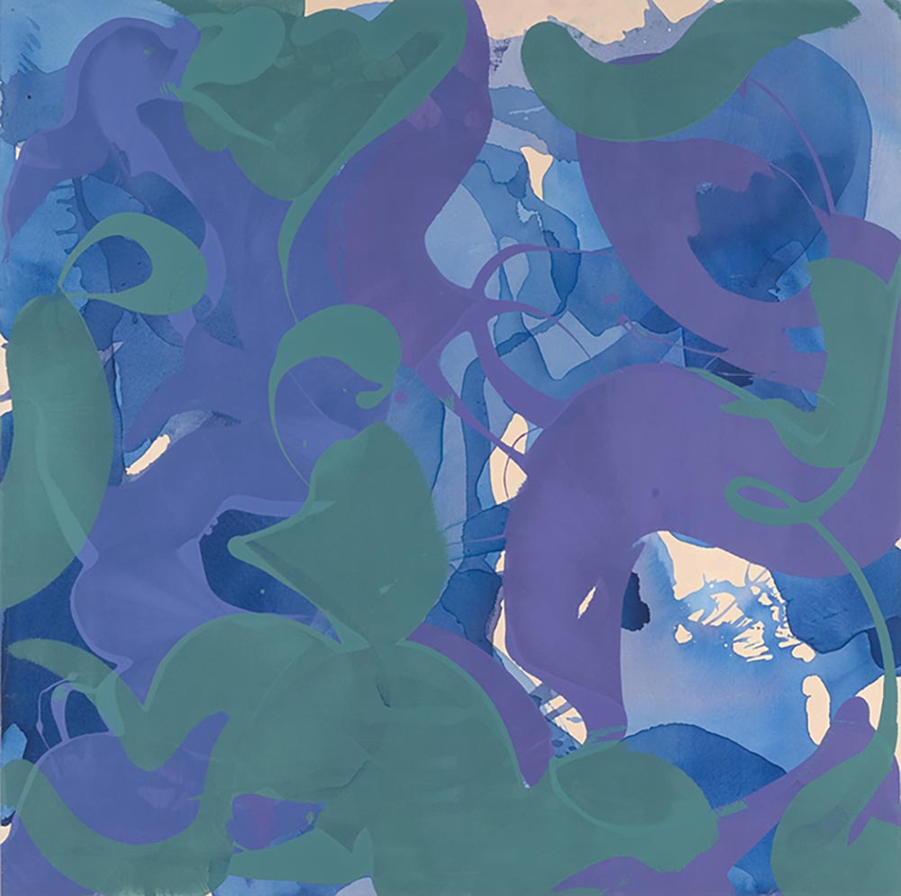 Andrea McCuaig Untitled III 2007 Acrylic on canvas 150 x 150cm