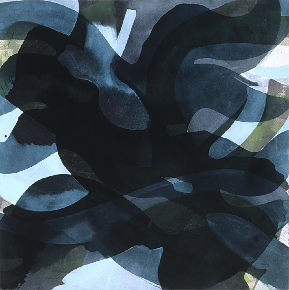 Andrea McCuaig Water 2004 Acrylic on canvas 100 x 100cm