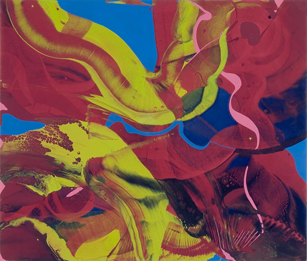 Andrea McCuaig AcidSplash 2006 Acrylic on canvas 175x150cm