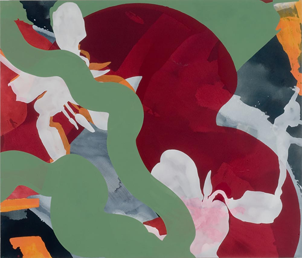 Andrea McCuaig  Dancing In Wonderland 2006 acrylic on canvas 175 x 150cm