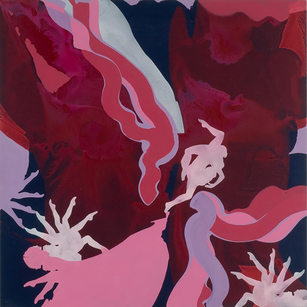 Andrea McCuaig Dream Sequence 2006 Acrylic on canvas 175 x 175cm