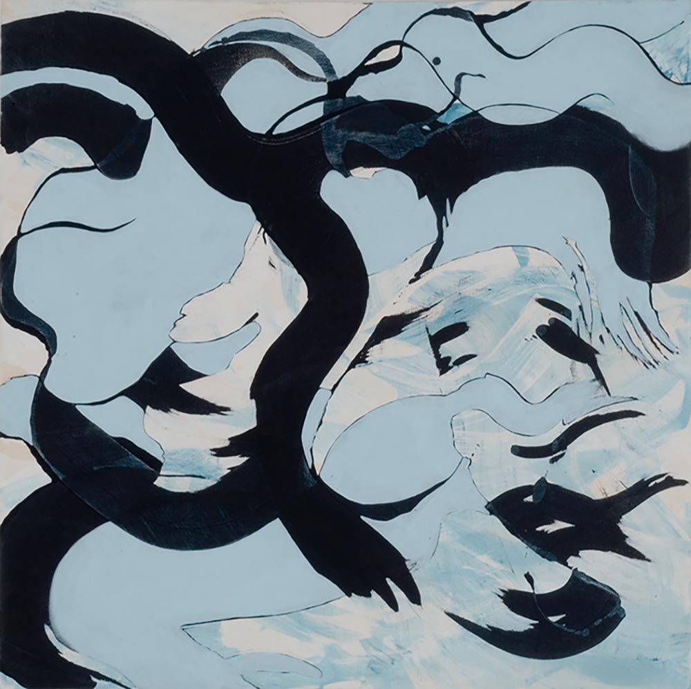 Andrea McCuaig HangTen 2006 Acrylic on canvas 100 x 100cm